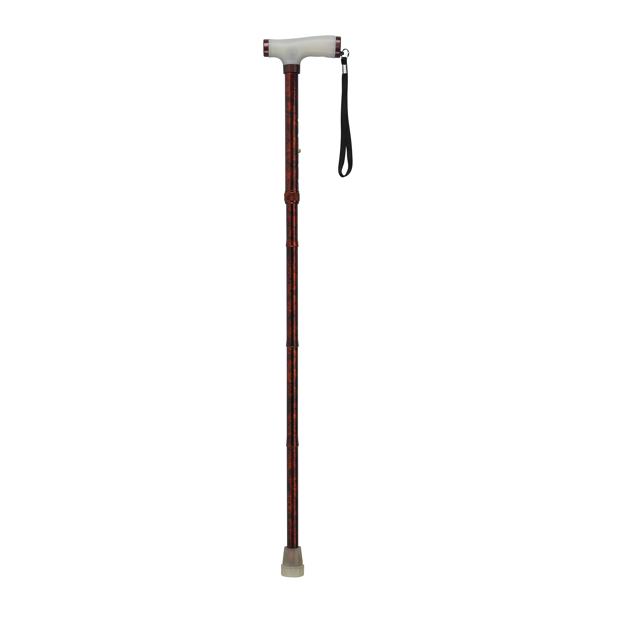 Drive Medical - Folding Cane with Glow Gel Grip Handle